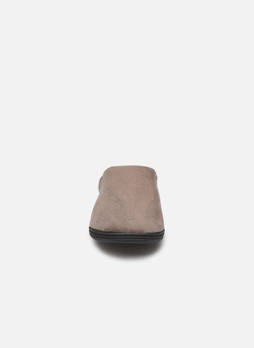 Pantoffels Dim D ABELARD Bruin model