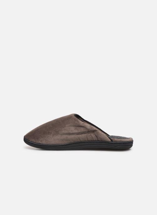Pantoffels Dim D ABELARD Bruin voorkant