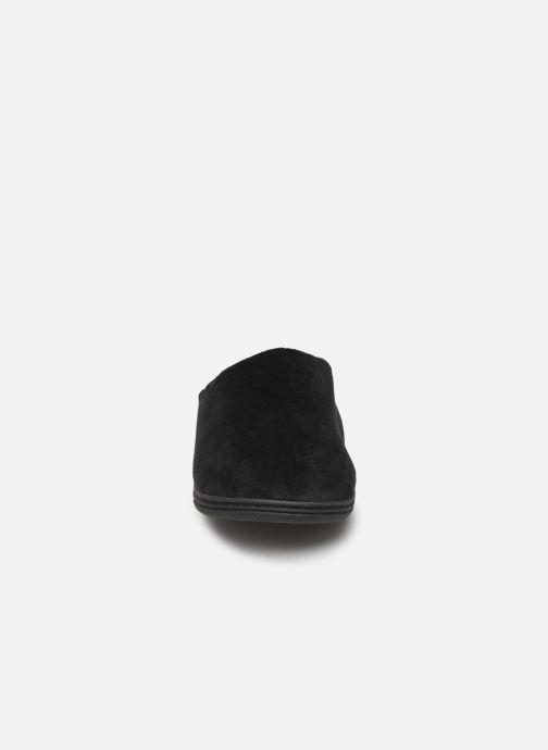Chaussons Dim D ABELARD Noir vue portées chaussures