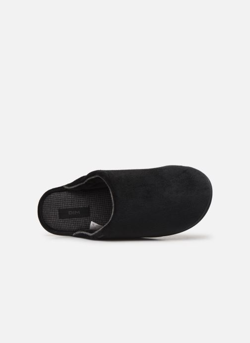 Slippers Dim D ABELARD Black view from the left