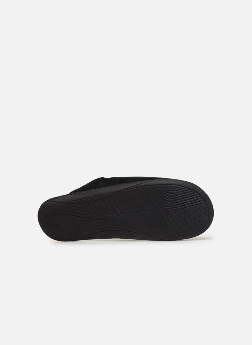 Slippers Dim D ABELARD Black view from above