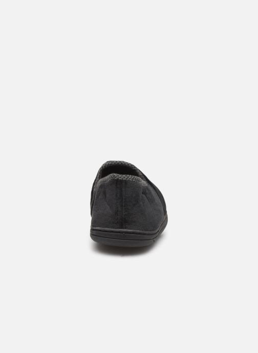 Slippers Dim D ABERT Black view from the right