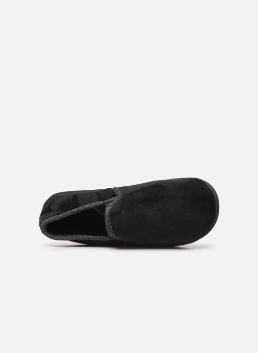 Slippers Dim D ABERT Black view from the left