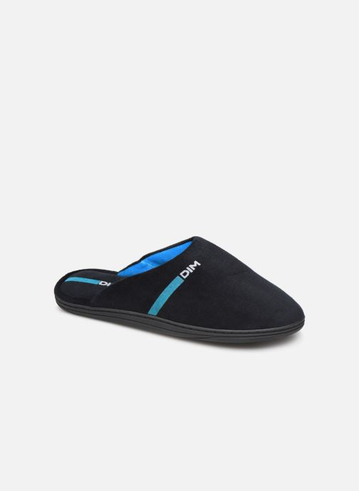 Slippers Dim D AGENORVE Black detailed view/ Pair view