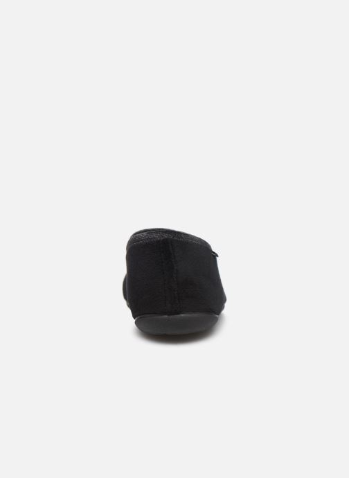 Slippers Dim D AGNI Black view from the right