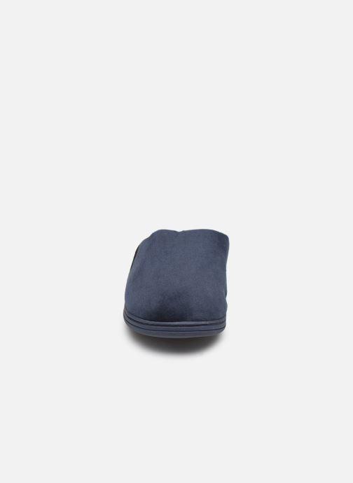 Chaussons Dim D AIMON Bleu vue portées chaussures