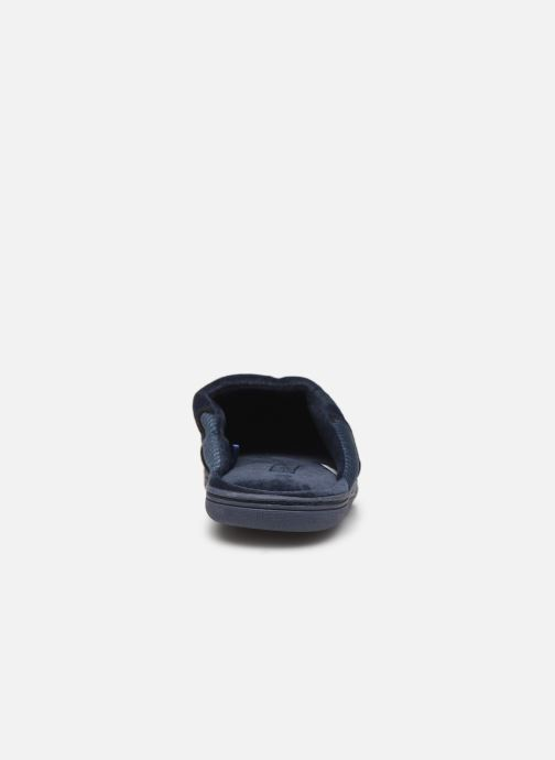 Slippers Dim D AIMON Blue view from the right