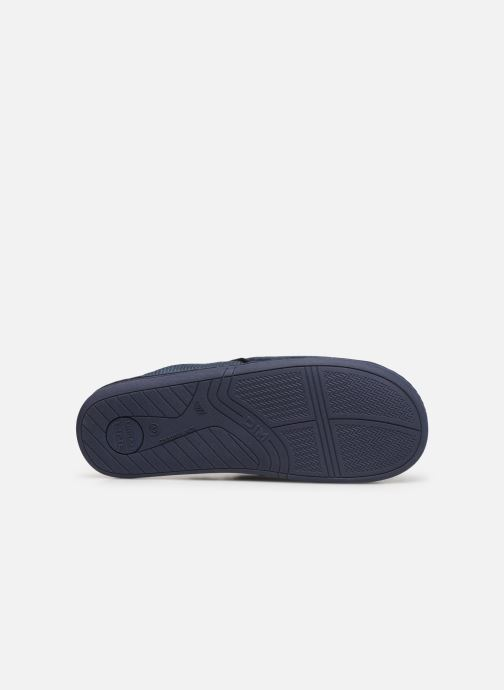 Slippers Dim D AIMON Blue view from above