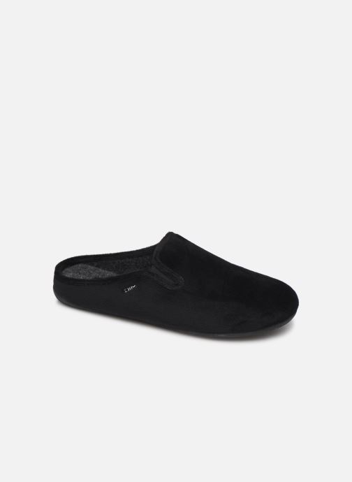 Slippers Dim D AVRIL Black detailed view/ Pair view