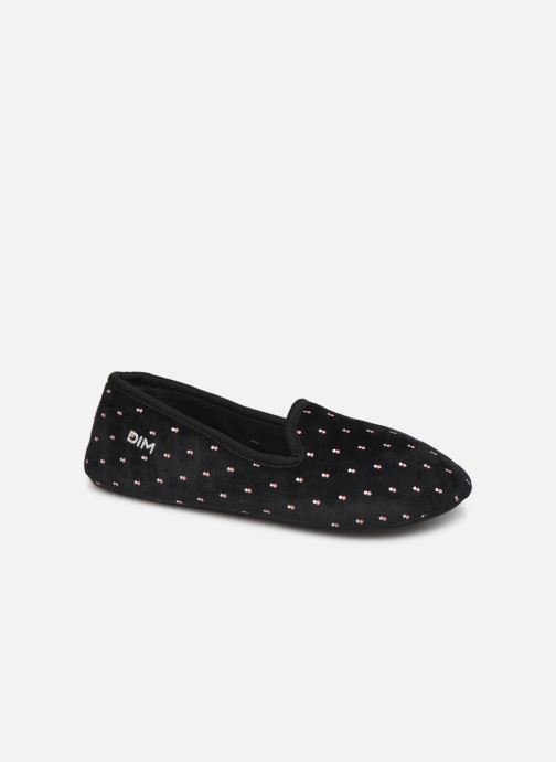 Slippers Dim D LINAS Black detailed view/ Pair view