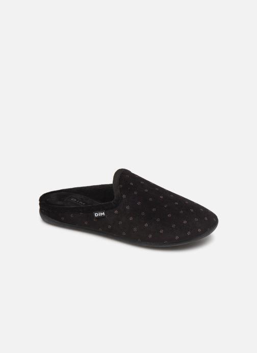 Hjemmesko Dim D NURVEL Sort detaljeret billede af skoene