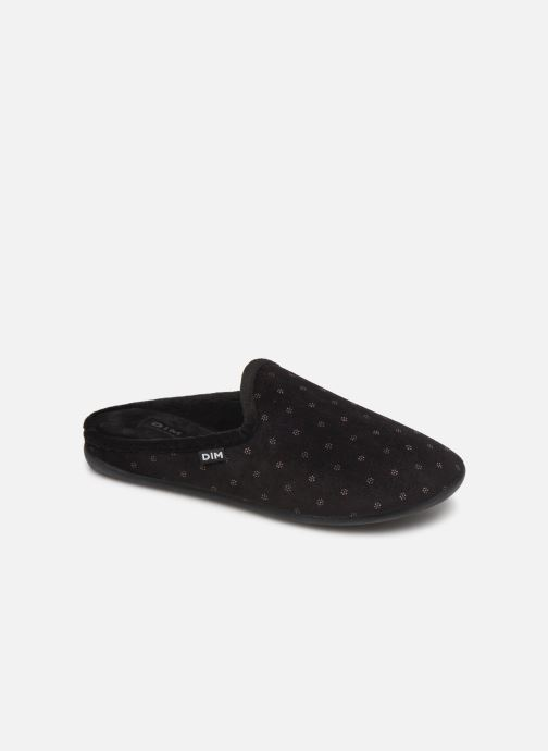 Slippers Dim D NURVEL Black detailed view/ Pair view