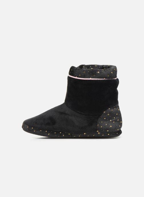 Pantoffels Dim D ZAHIDE Zwart voorkant
