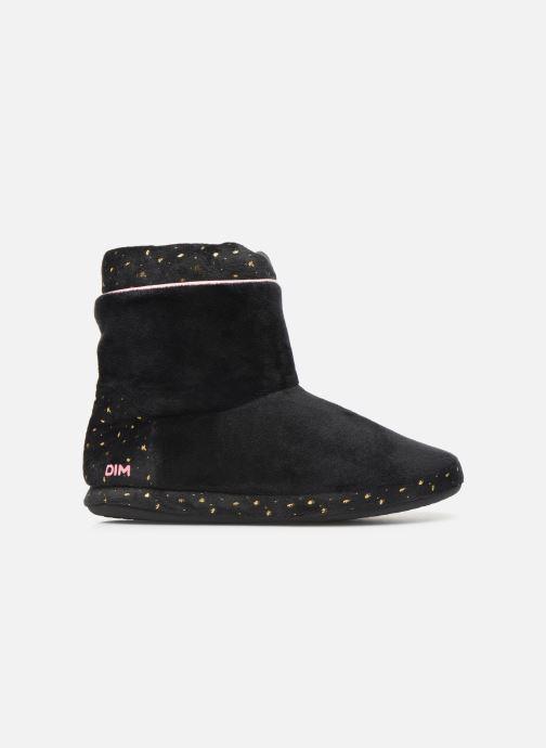 Pantoffels Dim D ZAHIDE Zwart achterkant