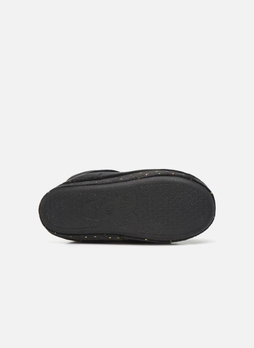 Pantoffels Dim D ZAHIDE Zwart boven