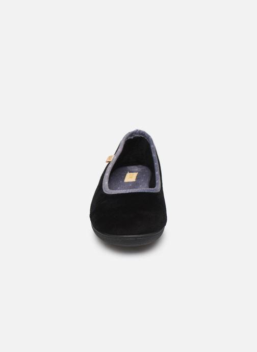 Chaussons Dim D ZIVOL Noir vue portées chaussures