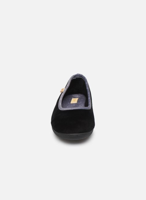 Pantofole Dim D ZIVOL Nero modello indossato