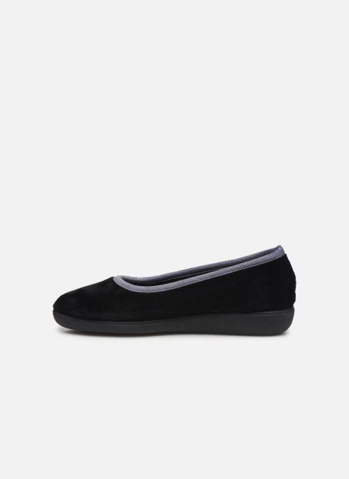 Slippers Dim D ZIVOL Black front view