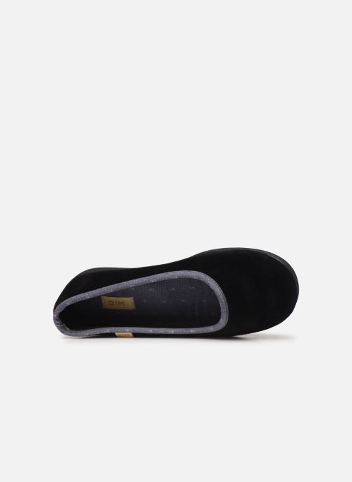 Slippers Dim D ZIVOL Black view from the left