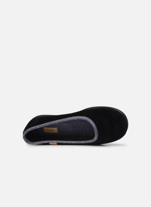 Pantofole Dim D ZIVOL Nero immagine sinistra