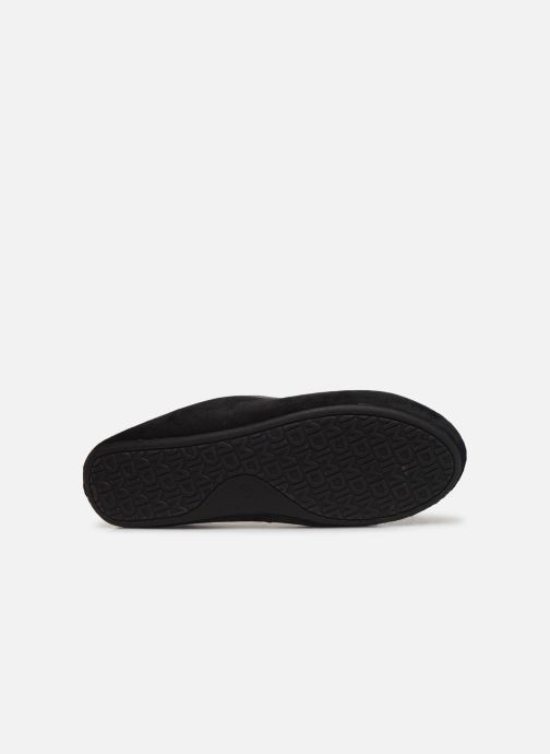 Slippers Dim D ZOKA Black view from above