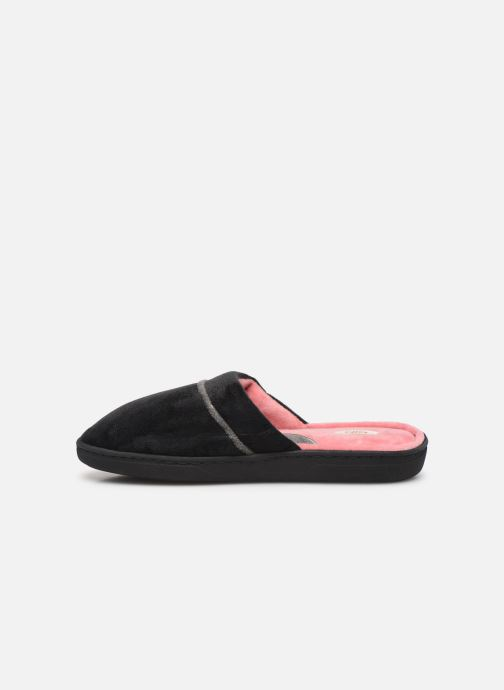 Slippers Dim D ZOLERA Black front view