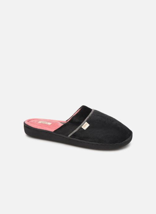 Slippers Dim D ZOLERA Black detailed view/ Pair view