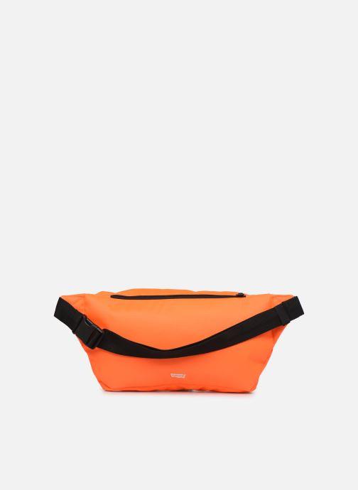 Sacs pochettes Levi's BIGGER BANANA SLING HI VIS Orange vue face
