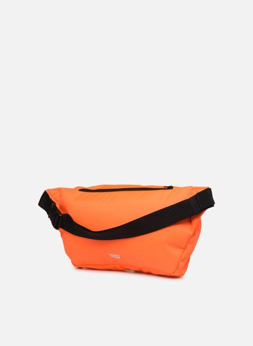 Sacs pochettes Levi's BIGGER BANANA SLING HI VIS Orange vue droite