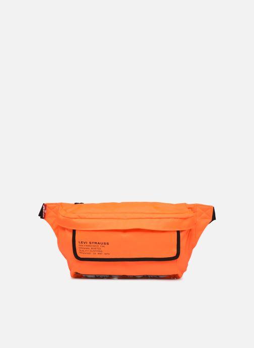 Bolsos Clutch Levi's BIGGER BANANA SLING HI VIS Naranja vista de detalle / par