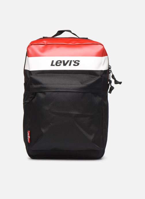 Rucksacks Levi's The Levi's® L Pack Standard Issue Colorblock Red detailed view/ Pair view