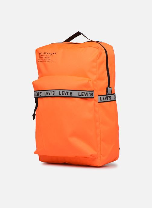 Sacs à dos Levi's The Levi's® L Pack Standard Issue Orange vue portées chaussures