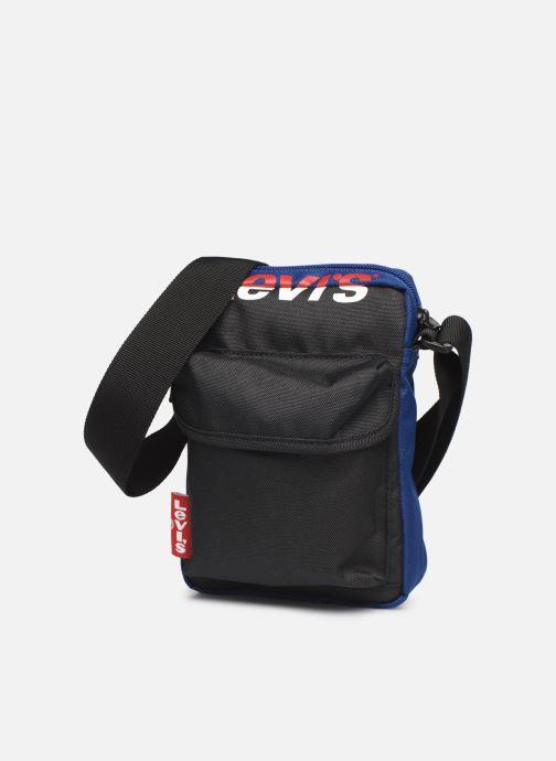 Portemonnaies & Clutches Levi's L SERIES SMALL CROSS BODY COLOR BLOCK blau schuhe getragen