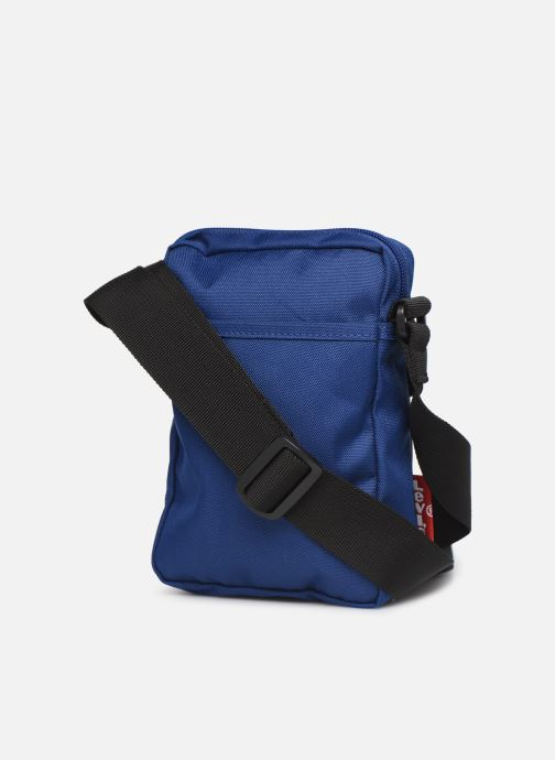 Kleine lederwaren Levi's L SERIES SMALL CROSS BODY COLOR BLOCK Blauw rechts