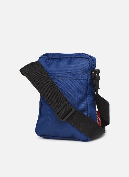 Portemonnaies & Clutches Levi's L SERIES SMALL CROSS BODY COLOR BLOCK blau ansicht von rechts