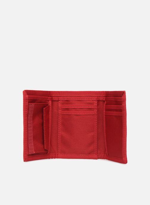 Kleine lederwaren Levi's Oversized Red Tab Trifold Rood achterkant