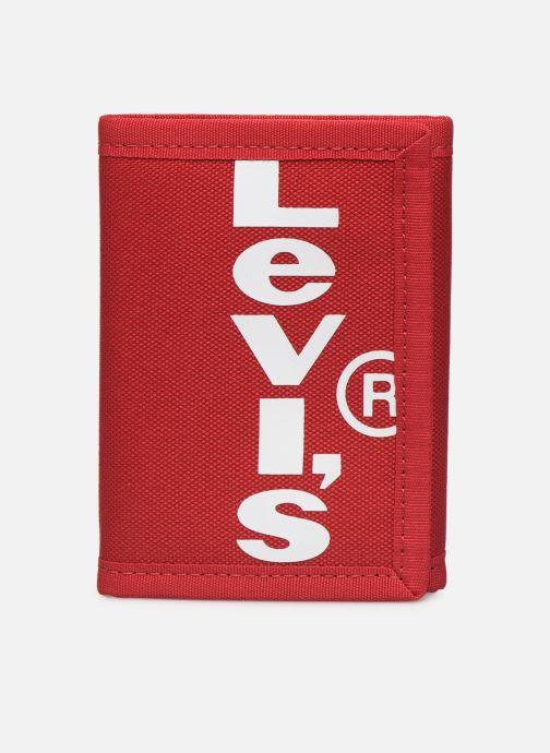 Kleine lederwaren Levi's Oversized Red Tab Trifold Rood detail