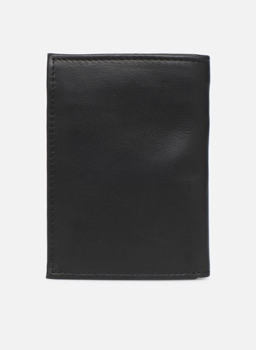 Kleine lederwaren Levi's Vintage Two Horse Vertical Coin Wallet Zwart voorkant