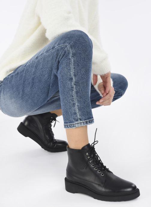 Bottines et boots Kickers ADHEMAR Noir vue bas / vue portée sac
