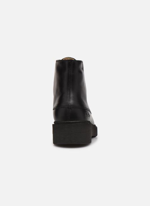 Bottines et boots Kickers ADHEMAR Noir vue droite