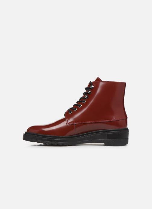 Bottines et boots Kickers ADHEMAR Rouge vue face