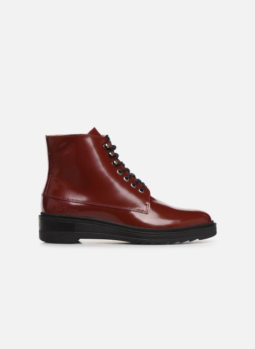 Bottines et boots Kickers ADHEMAR Rouge vue derrière