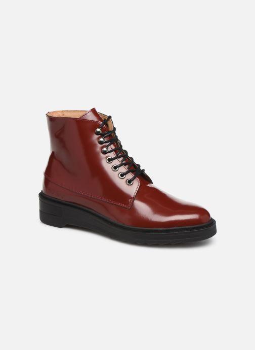Bottines et boots Kickers ADHEMAR Rouge vue détail/paire
