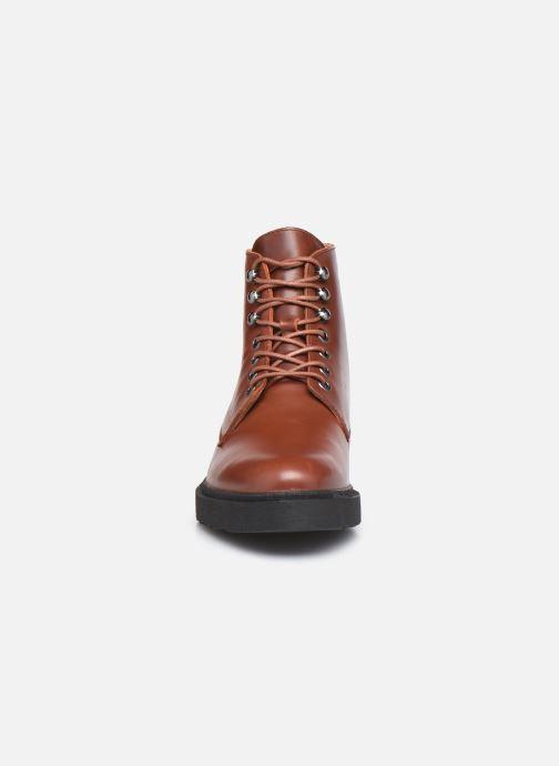 Bottines et boots Kickers ADHEMAR Marron vue portées chaussures