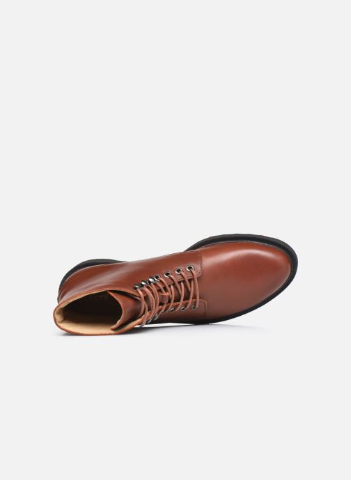 Bottines et boots Kickers ADHEMAR Marron vue gauche