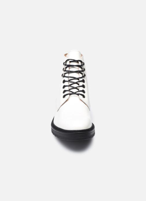 Bottines et boots Kickers ADHEMAR Blanc vue portées chaussures