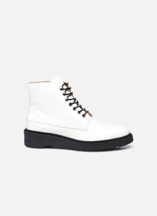 Bottines et boots Kickers ADHEMAR Blanc vue derrière
