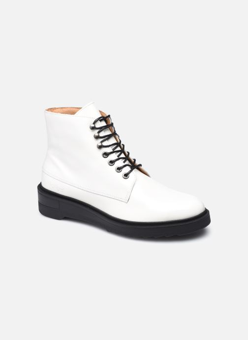 Bottines et boots Kickers ADHEMAR Blanc vue détail/paire