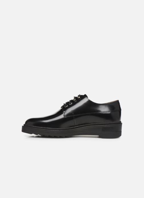 Chaussures à lacets Kickers ALDARIC Noir vue face