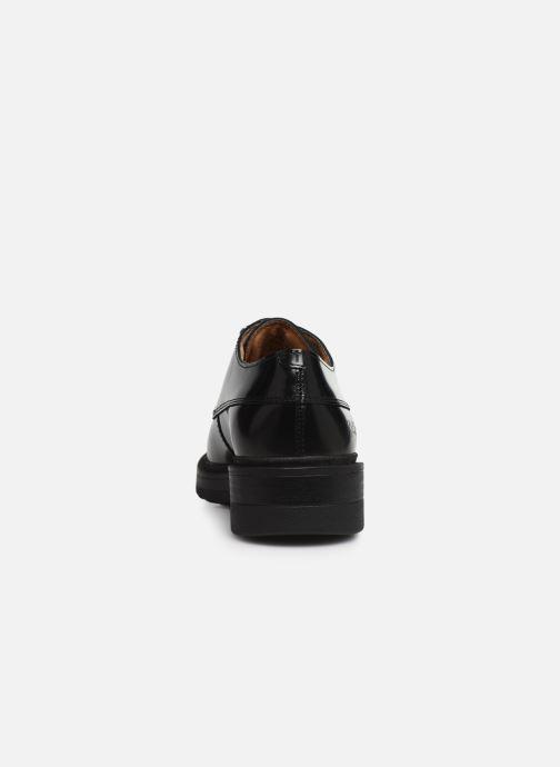 Zapatos con cordones Kickers ALDARIC Negro vista lateral derecha
